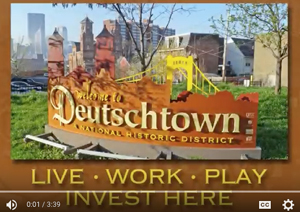 Video promotion for Deutschtown community