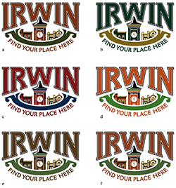 community branding logo design
