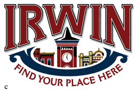 final Irwin logo