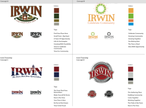 community logo and branding designs