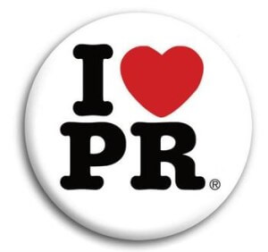 I love PR button