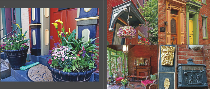 Colors of Pittsburgh photo book, historic home exteriors