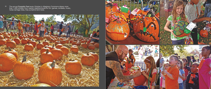 Colors of Pittsburgh photo book, pumpkinfest