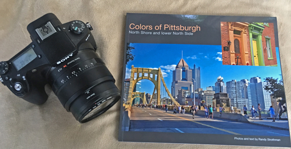 Colors of Pittsburgh coffee table photo book