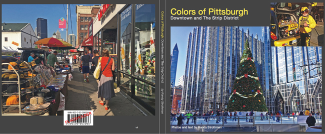 Colors of Pittsburgh photo book cover