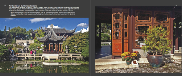 Nature photography book-Chinese Garden