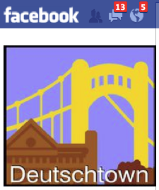 marketing Deutschtown community on Facebook