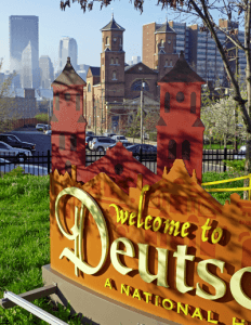 Deutschtown sign