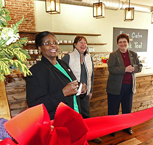Arnold's Tea shop promotion