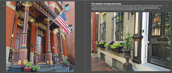 Colors of Pittsburgh photo book, historic home exteriors2