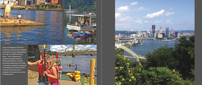 Colors of Pittsburgh photo book in Downtown