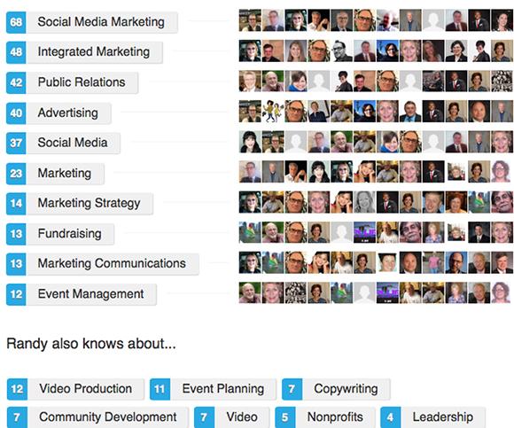 LinkedIn endorsements for Randy Strothman