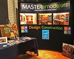 contractor branded trade show booth
